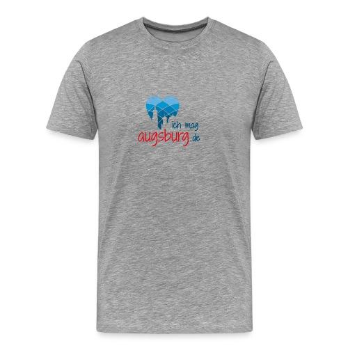 ichmagaugsburg logo - Männer Premium T-Shirt