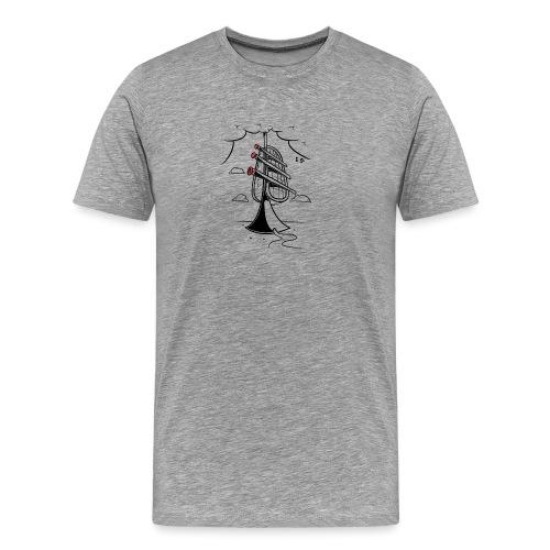 Trumpet Tower - T-shirt Premium Homme