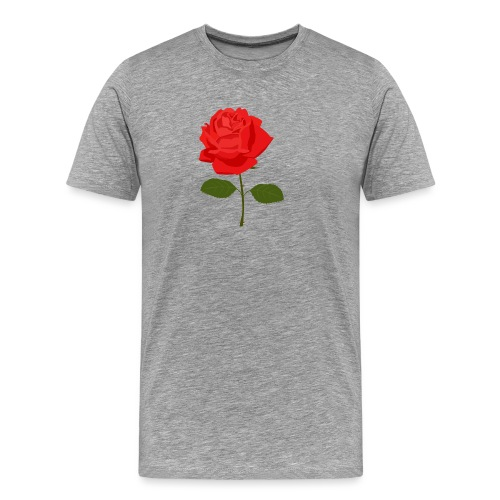 Red Rose - Mannen Premium T-shirt