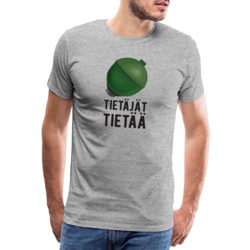 Jousipallo - tietäjät tietää - Miesten premium t-paita