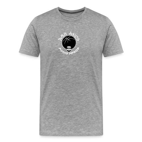 afros_Shirt_plain_white - Männer Premium T-Shirt