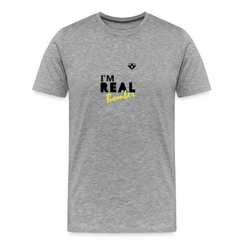 REAL Bomber - Maglietta Premium da uomo