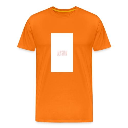 ALYSIAN LOGO - Maglietta Premium da uomo