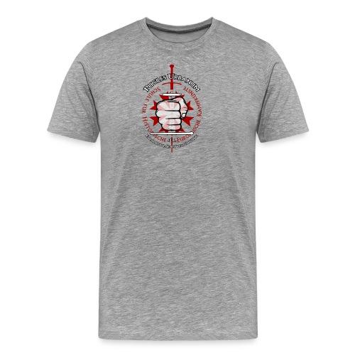 Logo frei PUR mitWa trans - Männer Premium T-Shirt
