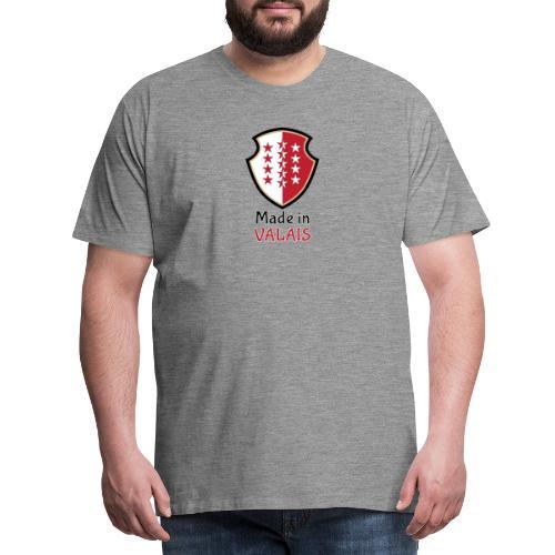Hergestellt im Wallis - Männer Premium T-Shirt