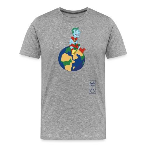 champion de la terre - T-shirt Premium Homme
