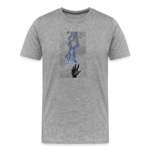 Rücken Blitz - Männer Premium T-Shirt