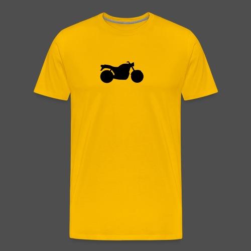 Naked Bike Classic 0NK02 - Men's Premium T-Shirt