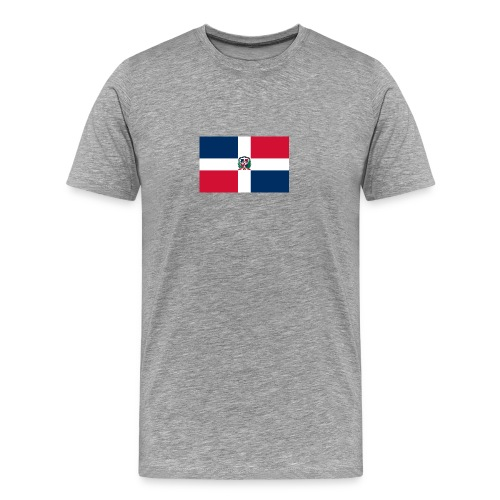bandera de republica dominicana grande - Camiseta premium hombre