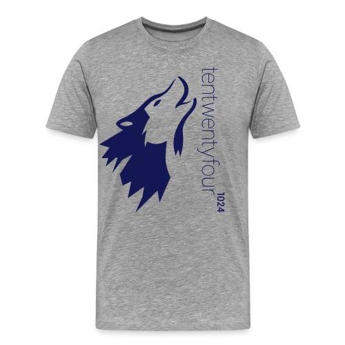 1024_LOGO_blue_ - Männer Premium T-Shirt