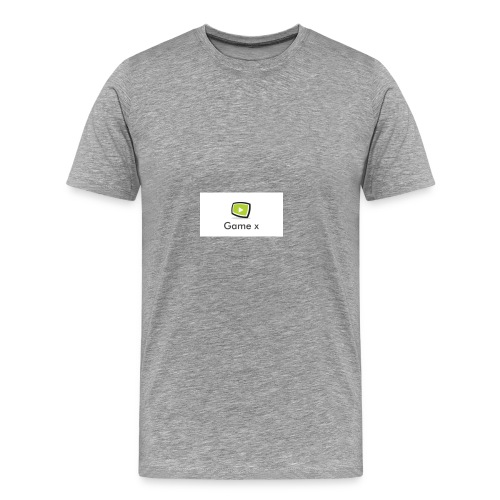 Game x - Männer Premium T-Shirt