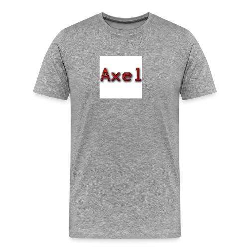 Retro Pixel Logo - Mannen Premium T-shirt