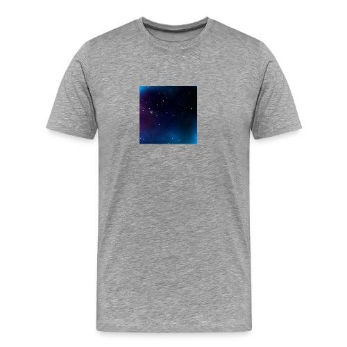 galaxy - Premium-T-shirt herr