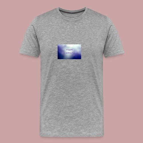 Team Wolf Box - Men's Premium T-Shirt