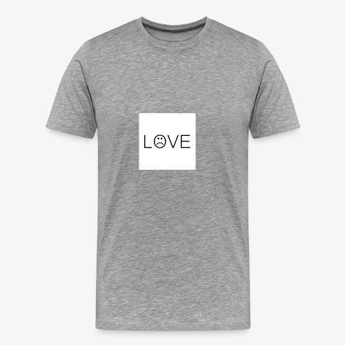 love - Koszulka męska Premium