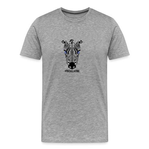 finoallafine - Maglietta Premium da uomo