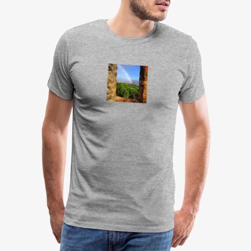Lisbona rainbow - Maglietta Premium da uomo