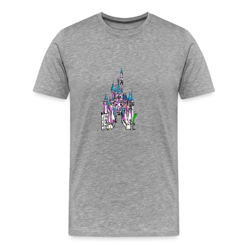 Fairy Tale Castle - Men's Premium T-Shirt