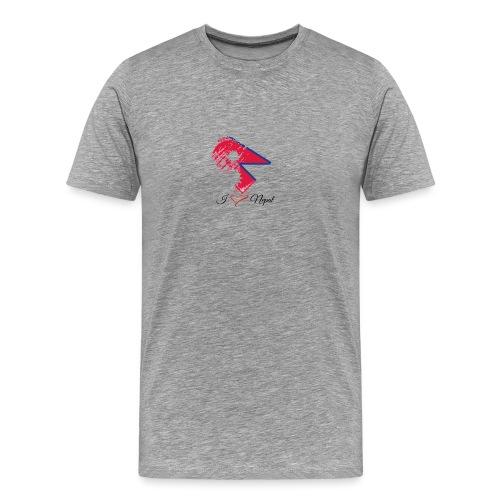 Nepali lovers - Men's Premium T-Shirt