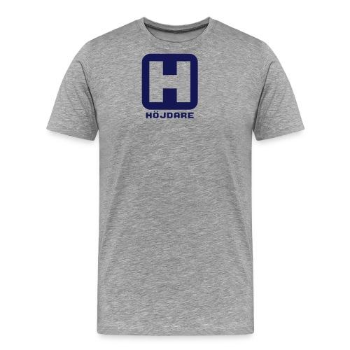 hojdare h1 - Premium-T-shirt herr