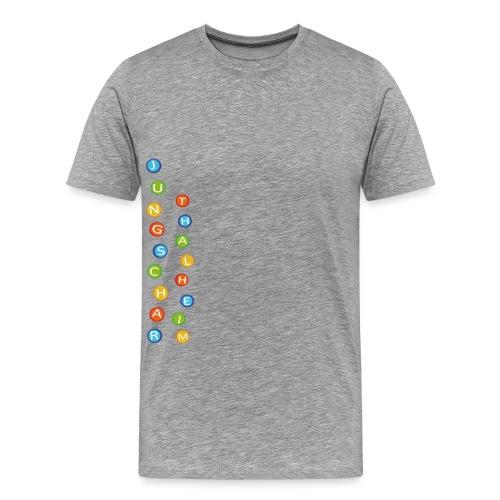 Jungscharlogo Bunt Hochformat - Männer Premium T-Shirt