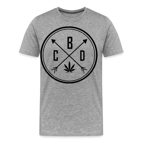 LOGO CBD 2 - T-shirt Premium Homme