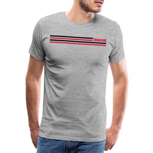 innocent stripes - Männer Premium T-Shirt