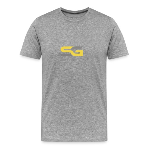 SibertGamer T-Shirt bleu - Mannen Premium T-shirt