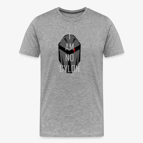I am not a Cylon - Premium T-skjorte for menn