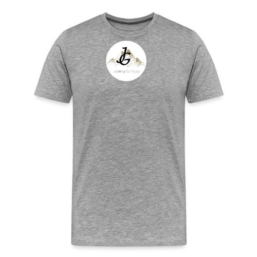 Journey Glimpse - Logo ohne Kreis - Männer Premium T-Shirt