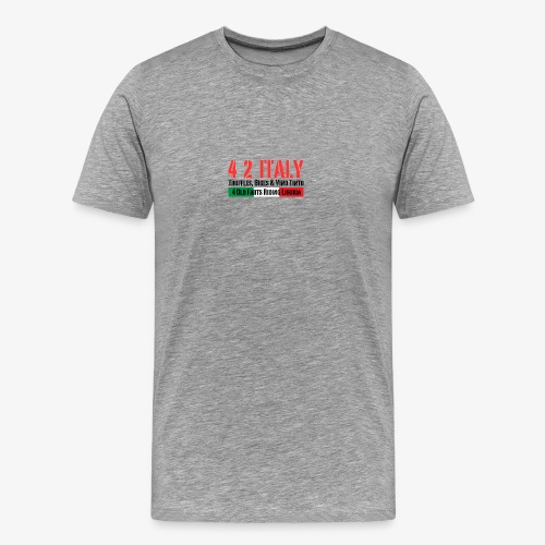 4 2 ITALY - Männer Premium T-Shirt