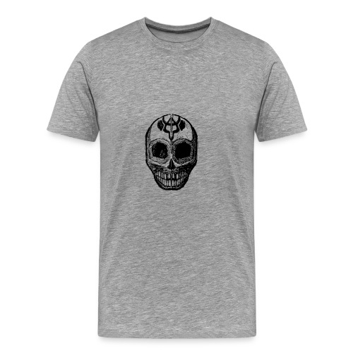 Skull of Discovery - Men's Premium T-Shirt