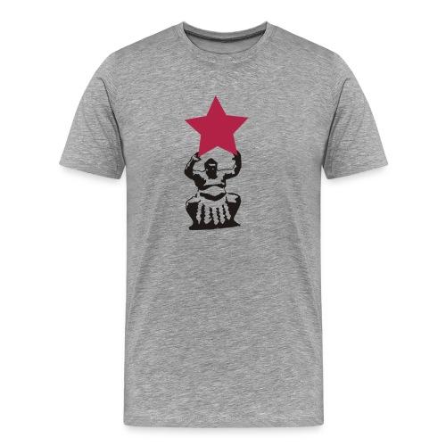sumo sternträger - Männer Premium T-Shirt