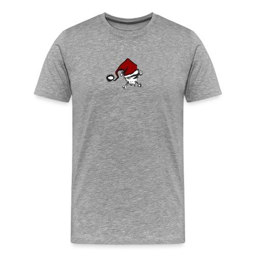 CHRISTMAS SKULL - T-shirt Premium Homme