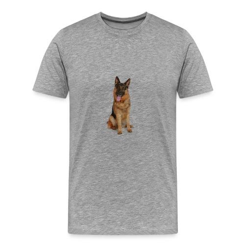 bonito diseño de perro - Camiseta premium hombre