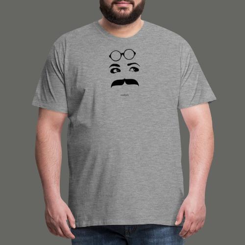 Mousteyeche First -nero- - Maglietta Premium da uomo