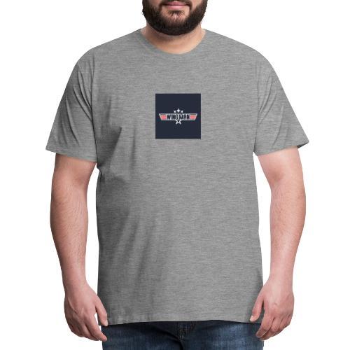 top gun wingman design - Camiseta premium hombre