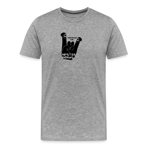 8 Hipster Horns - Männer Premium T-Shirt