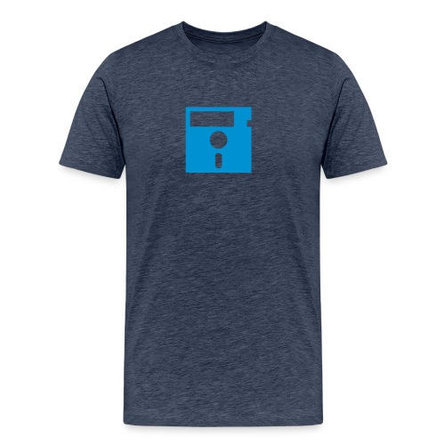 ibisdesigs floppydisk vec - Men's Premium T-Shirt