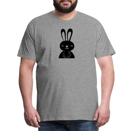 Scandivian rabbit - T-shirt Premium Homme