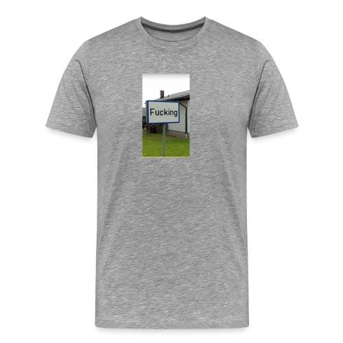Das meistgeklaute Ortschild in Österreich - Männer Premium T-Shirt