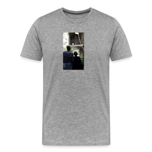 Hoesje van mij en emma - Mannen Premium T-shirt