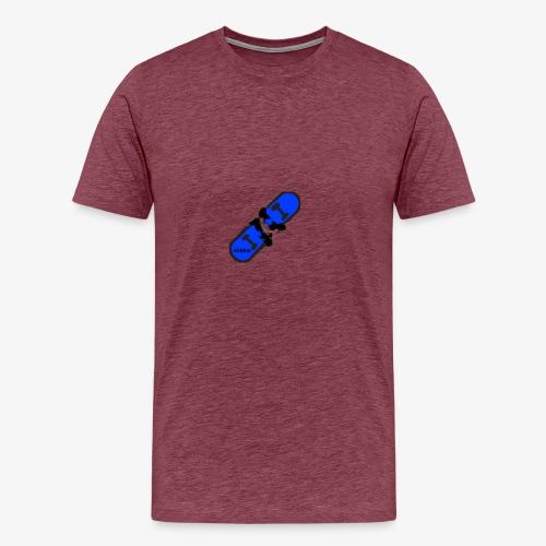 skateboard 512 - Herre premium T-shirt