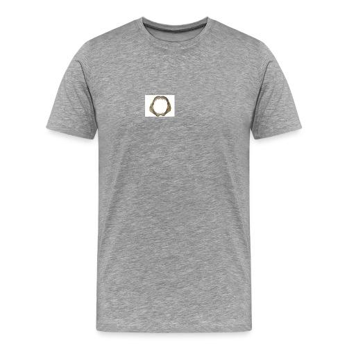 Hai Zähne - Männer Premium T-Shirt
