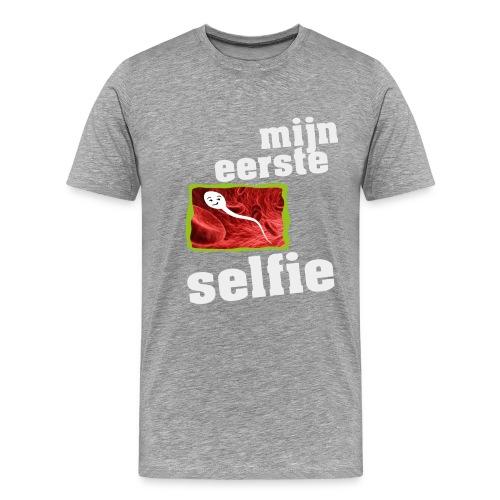 mijn eerste foto - Mannen Premium T-shirt