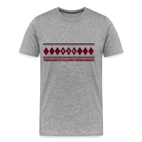 95pros - Miesten premium t-paita