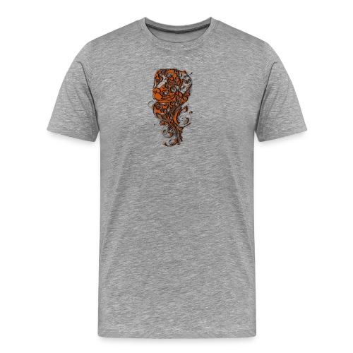Perro café - Camiseta premium hombre