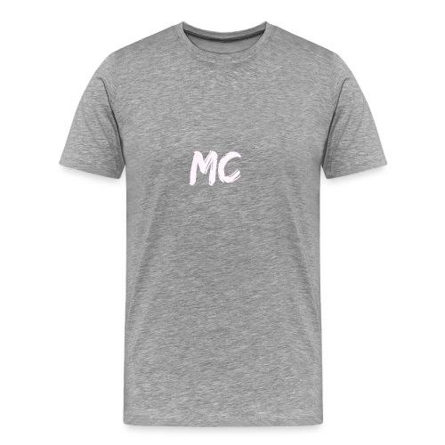 MC Merch T-shirt - Small badge (Black) - Men's Premium T-Shirt