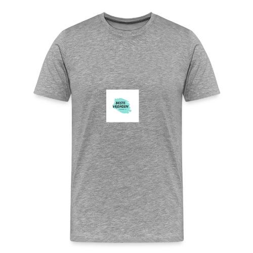 beste vriendeSpace - Mannen Premium T-shirt