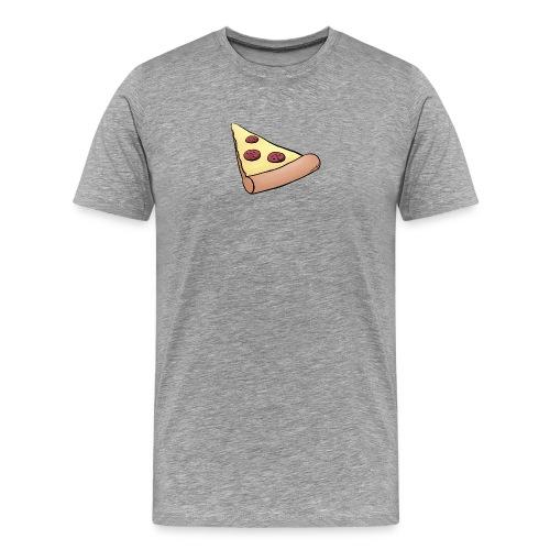 Pizzastück für Eltern-Baby-Partnerlook - Männer Premium T-Shirt